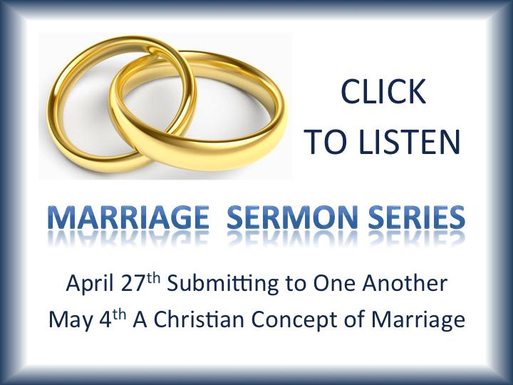 April/May 2014 Marriage Sermon Series | Elkhart Christian Church